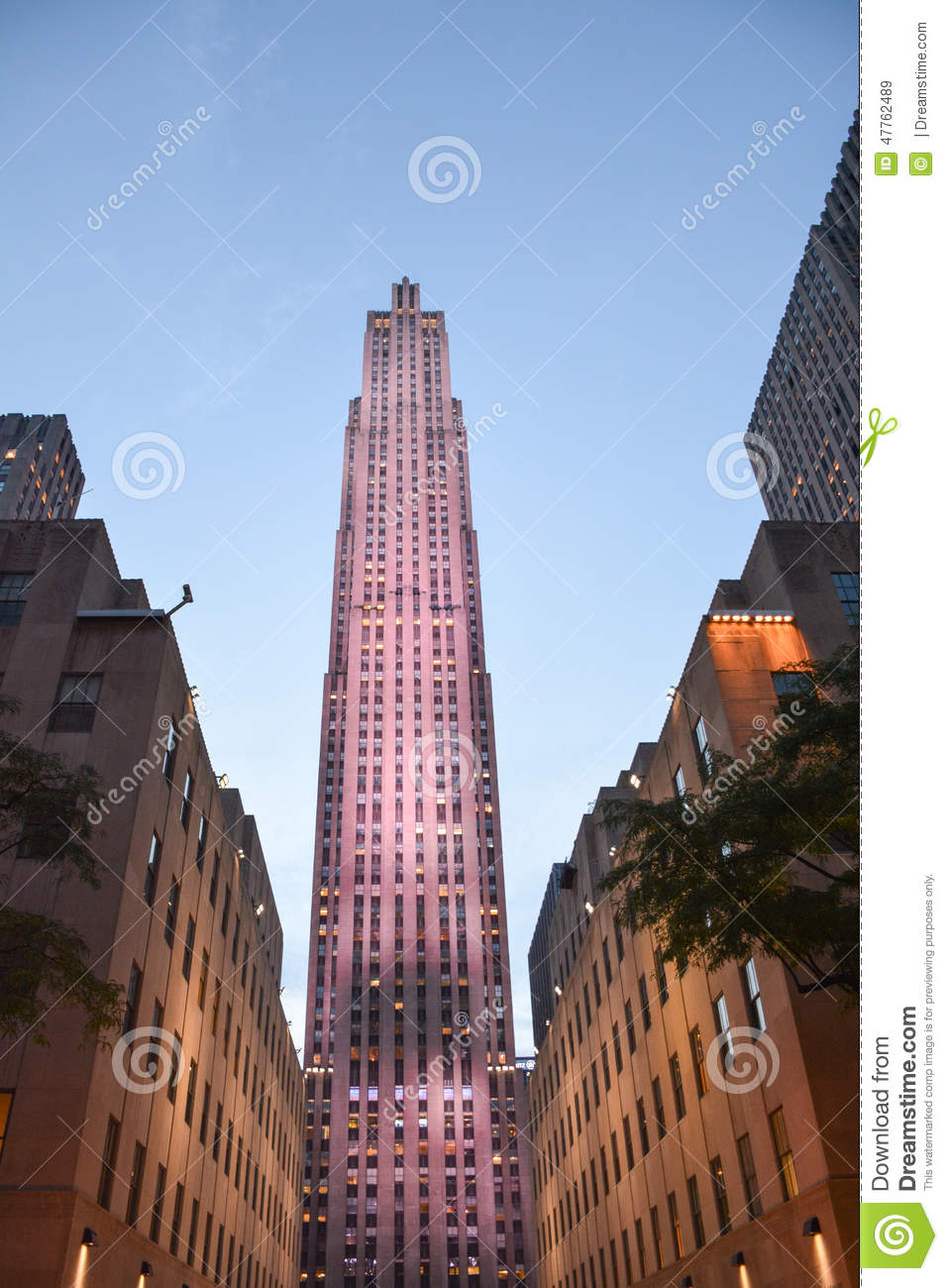 Cucina Restaurant Rockefeller Center Rockefeller Center Nyc Editorial Stock Image Image Of