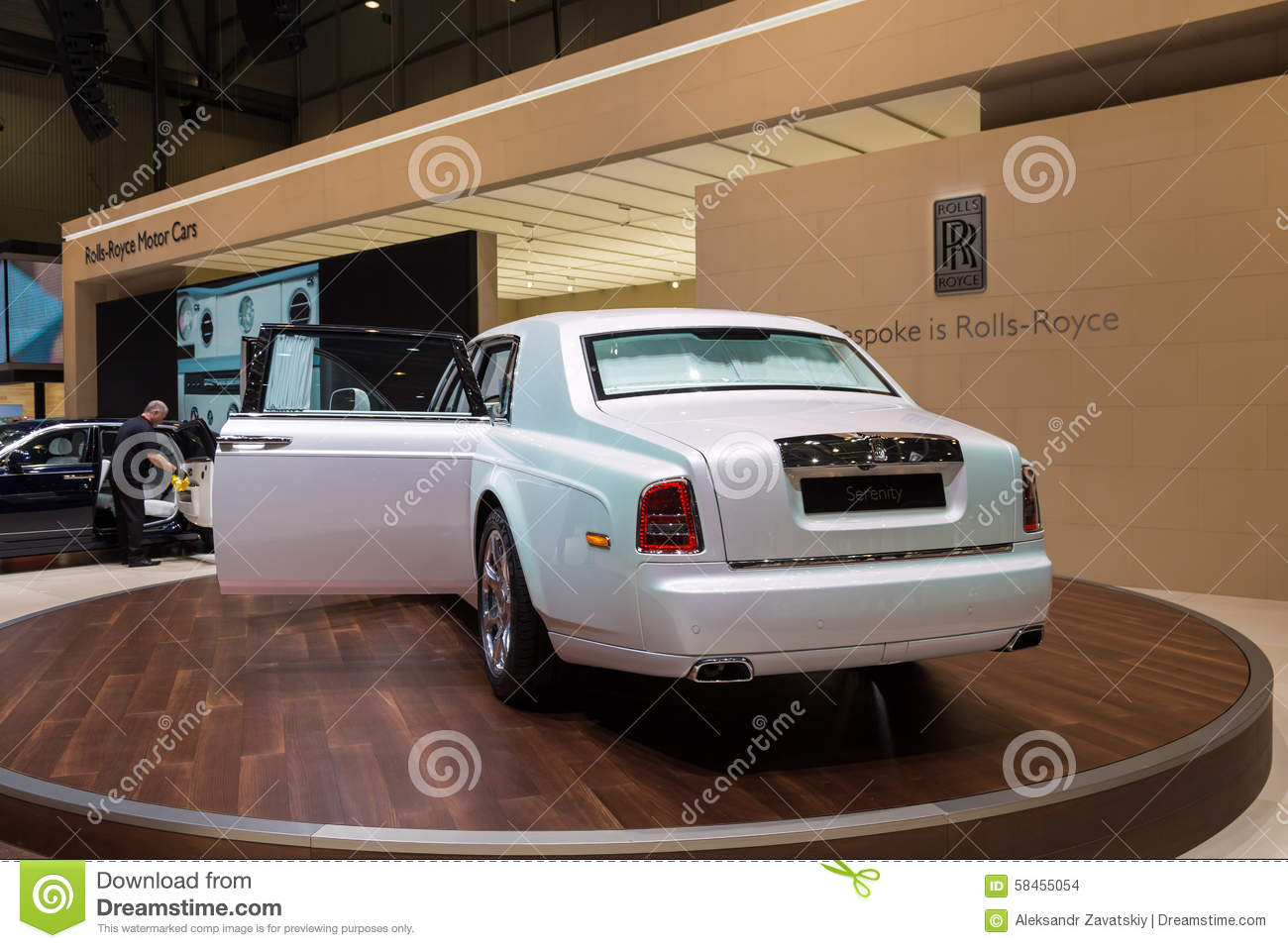 Phantom Serenity 2015 Rolls Royce Phantom Serenity Editorial Stock Image Image Of