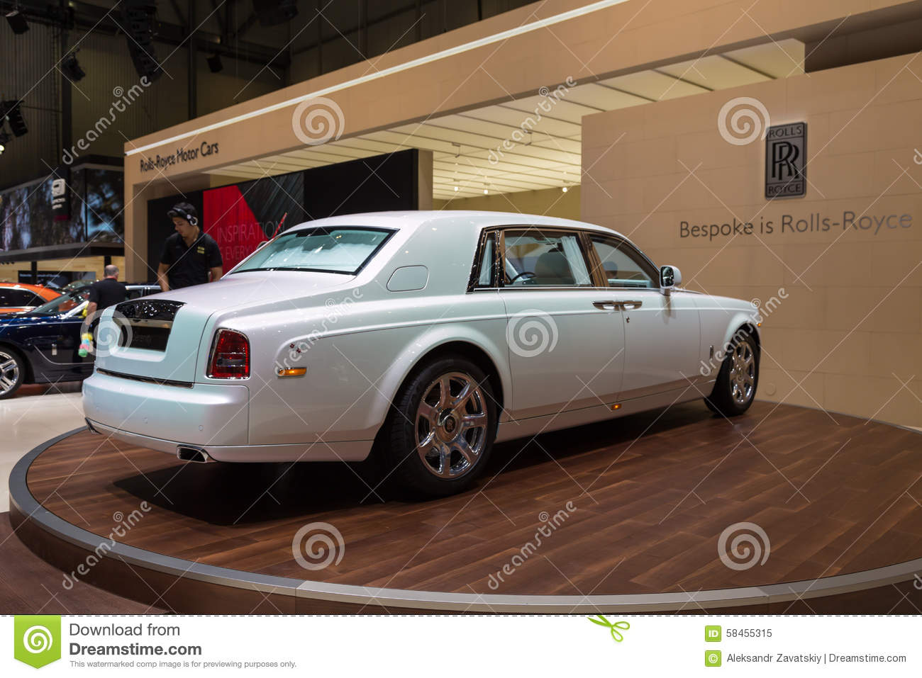 Phantom Serenity 2015 Rolls Royce Phantom Serenity Editorial Image Image Of