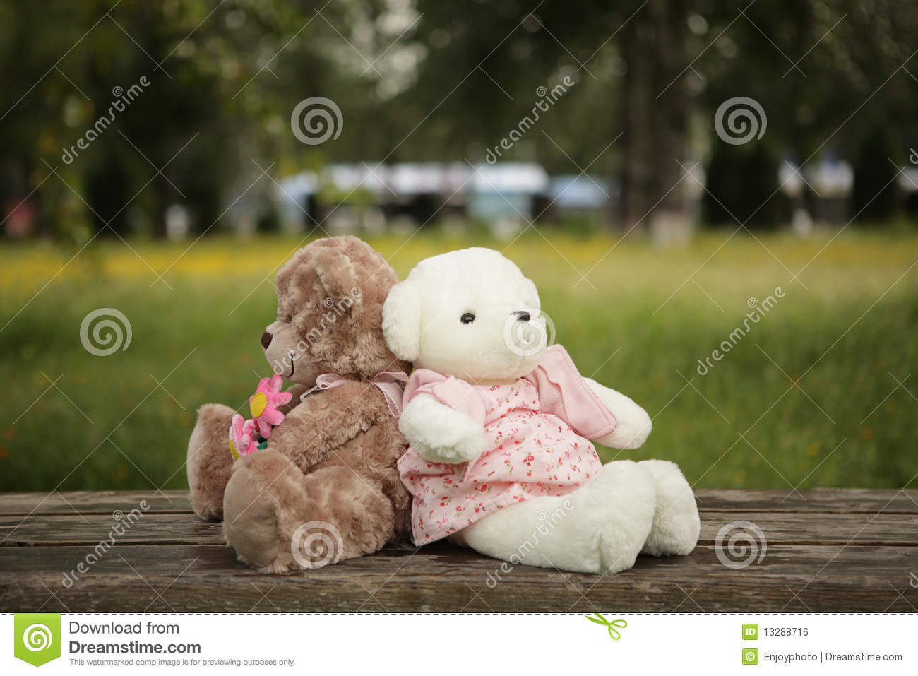 Sweet And Cute Couple Wallpaper Romantic Teddy Bears Royalty Free Stock Image Image