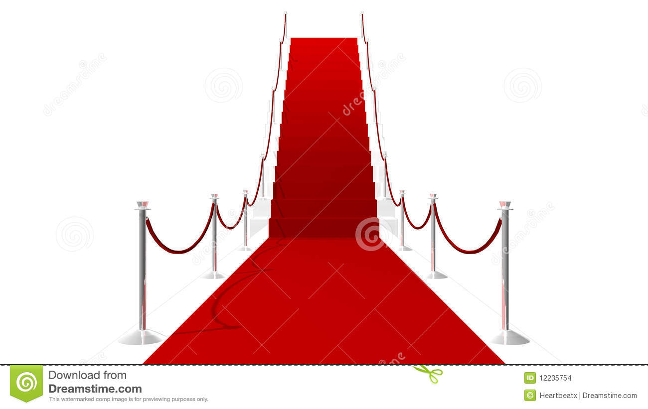 Hollywood Roter Teppich Hollywood Roter Teppich Roter Teppich Stockfotos And