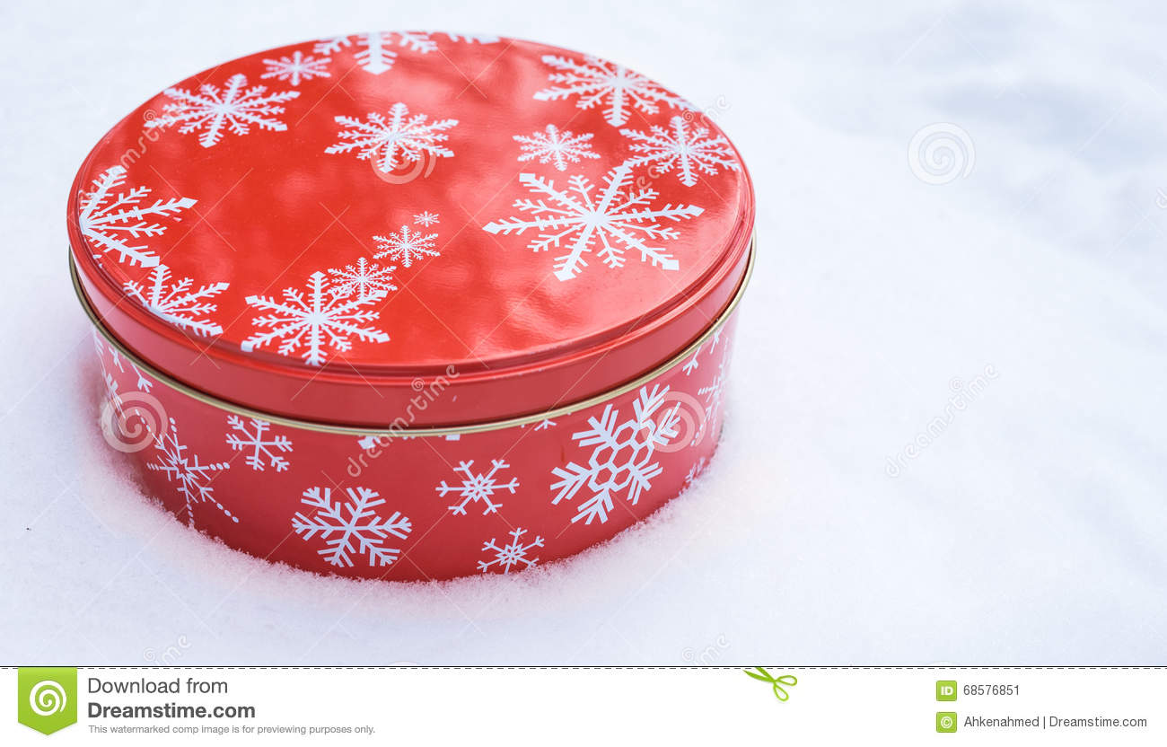 Decorative Cookie Containers Christmas Cookie Pattern Vector Illustration