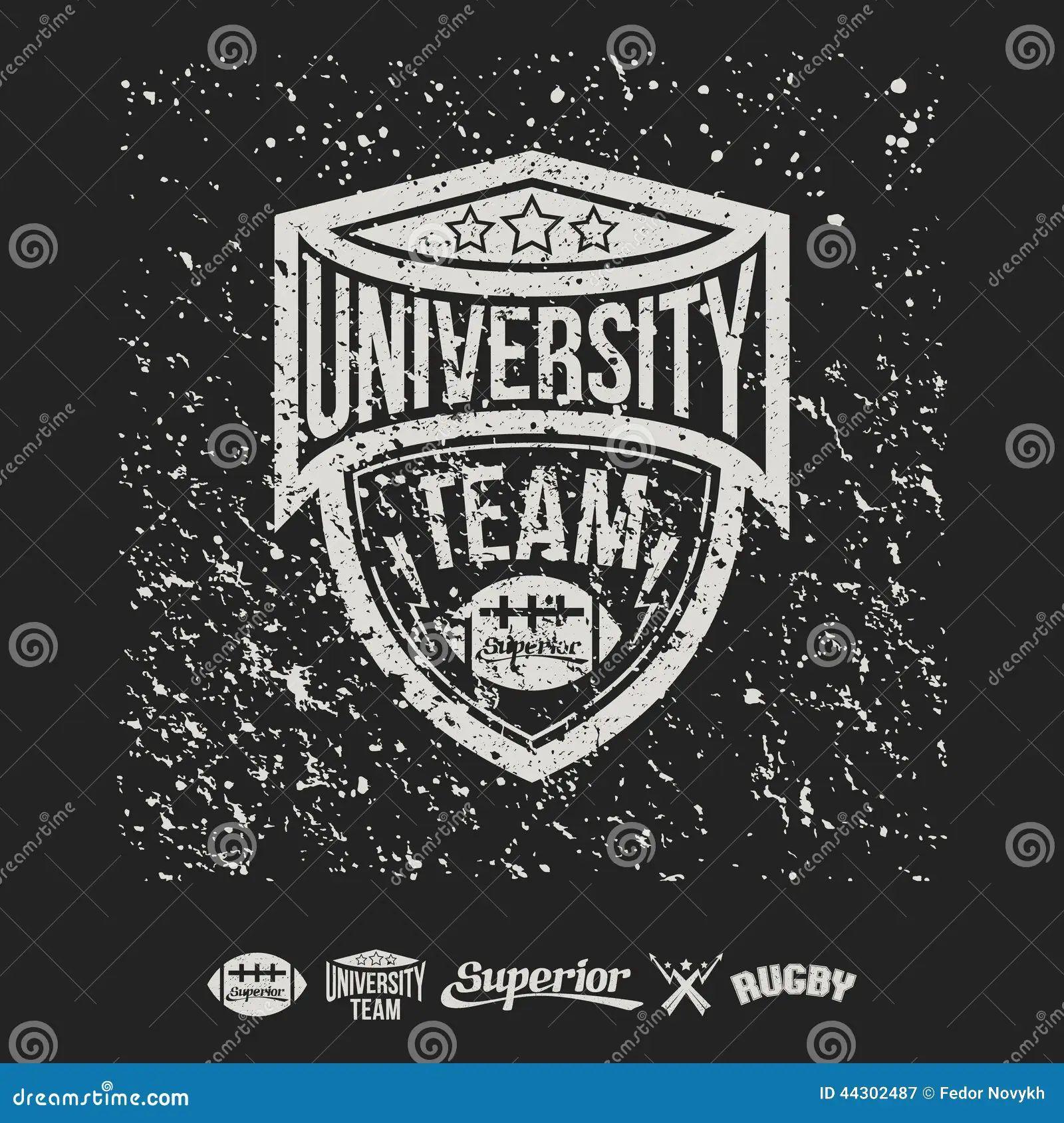 T shirt design 2 zeixs - T Shirt Team Rugby Emblem University Team And Design Elements Download