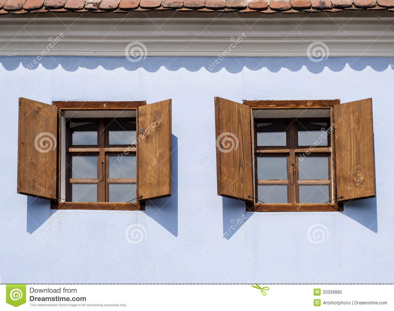 Finestre Romania Rustic Wood Windows Royalty Free Stock Photo Image 33339885