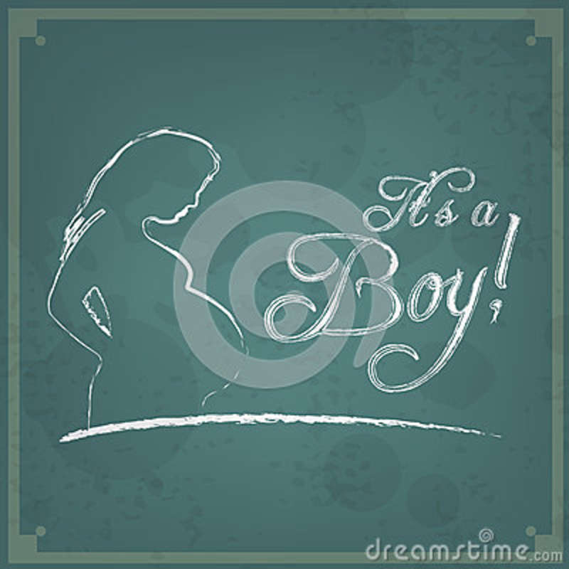 It\u0027s A Boy! Vintage Background Stock Vector - Illustration of card
