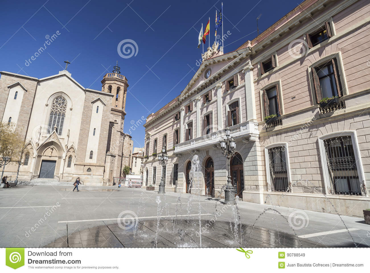 Sabaedell Sabadell Catalonia Spain Editorial Stock Image Image Of