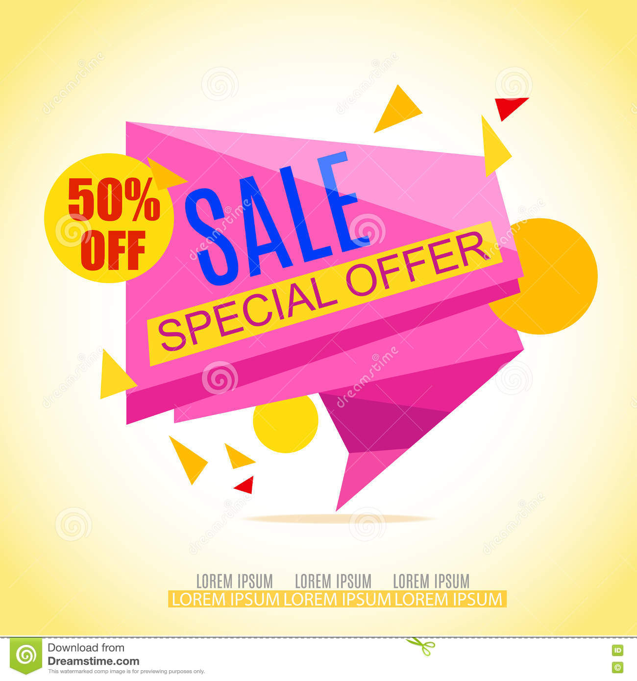 Store Banne Promotion Sale Banner Design Sale Background Sale Vector Tag For