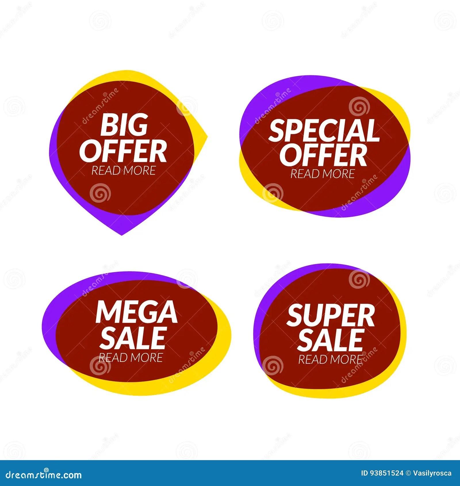 Sale Banner Speech Bubble Design Element Vector App Icon, Corporate