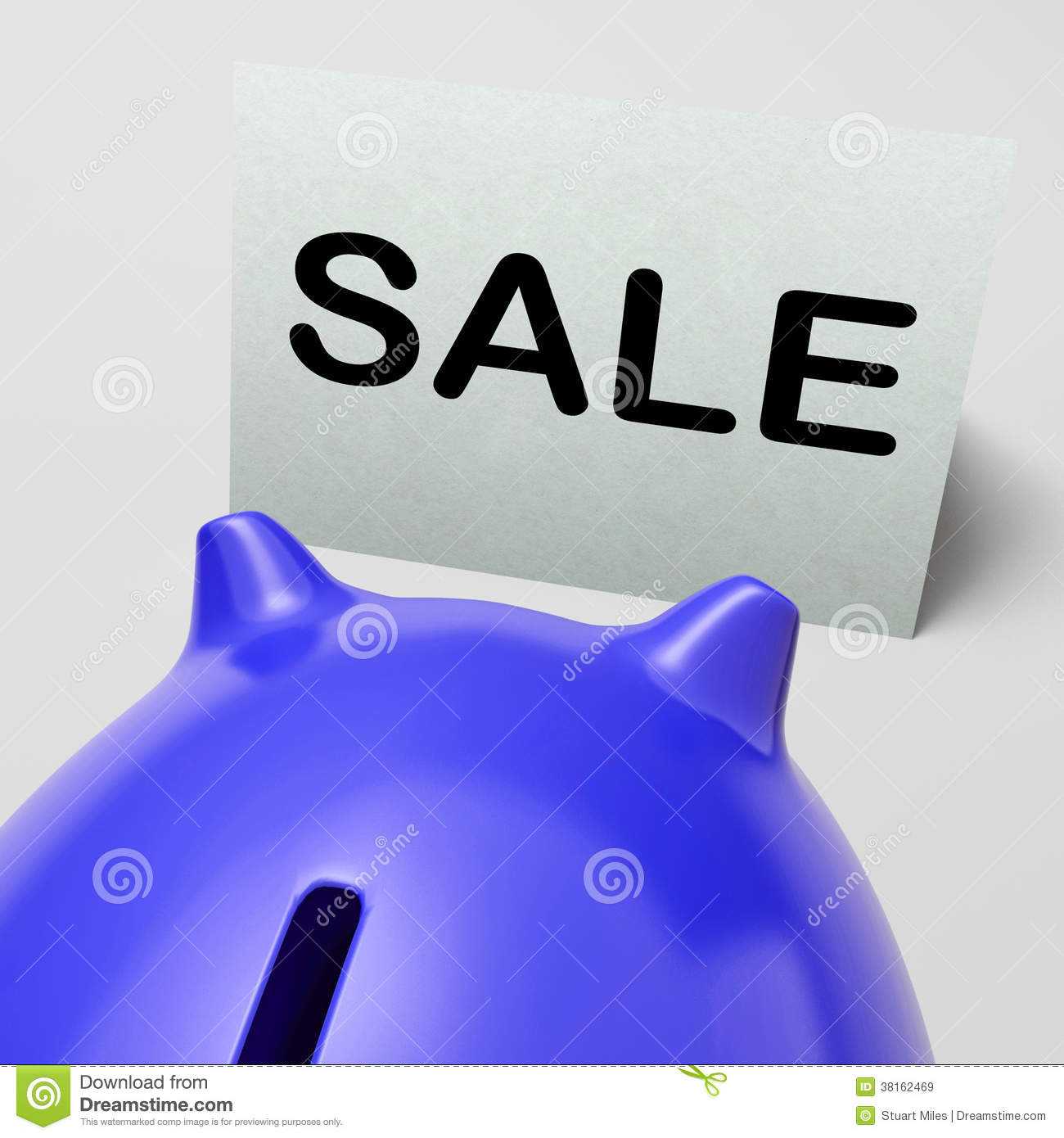 Cheap Piggy Banks For Sale Sale Piggy Bank Means Bargain Promo Or Clearance Stock