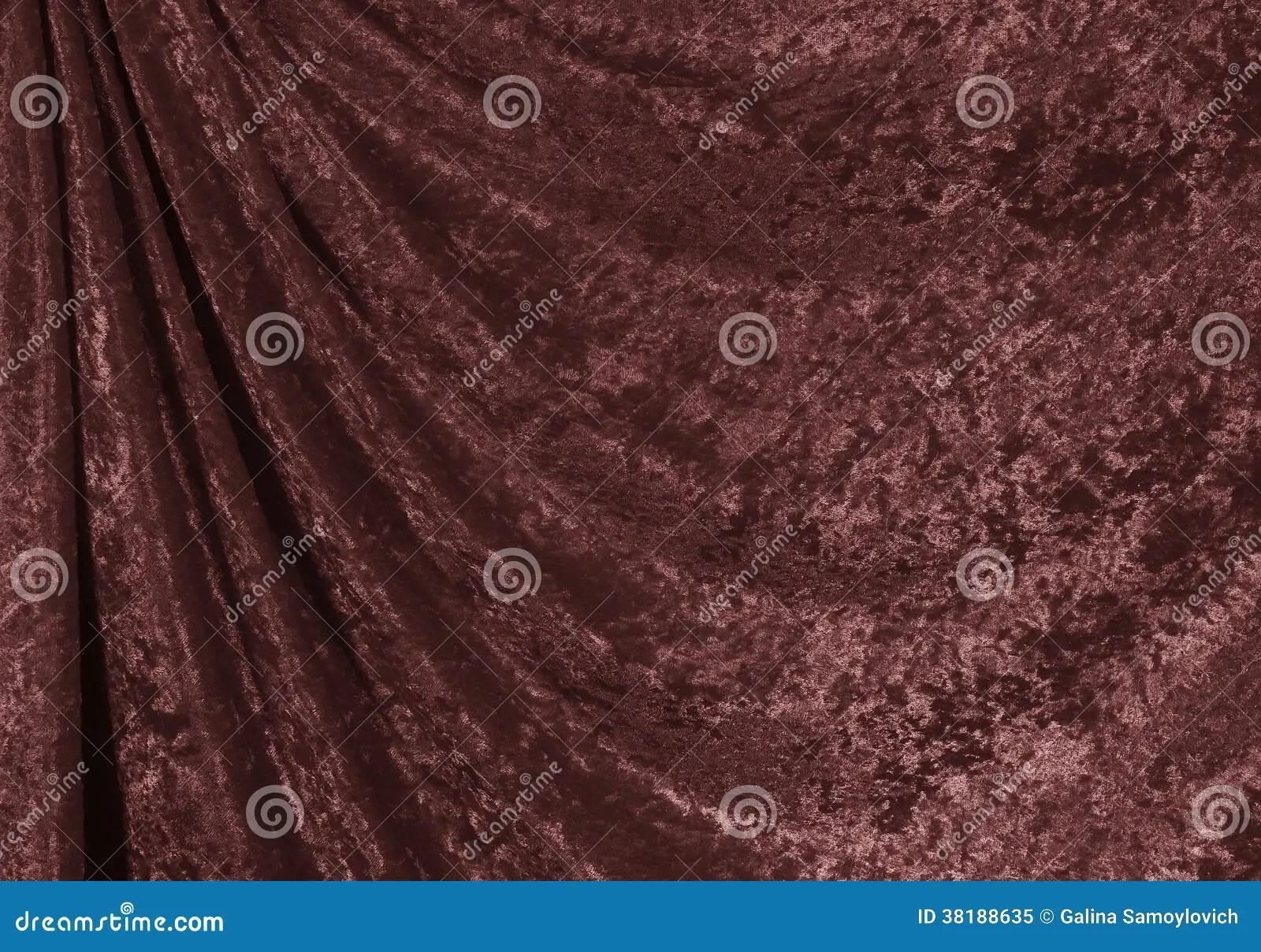 Samtvorhang Rot Roter Samt Kleiner Kuchen Lizenzfreies Stockbild Bild