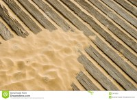 Sand on wooden deck stock photo. Image of floor, plank ...