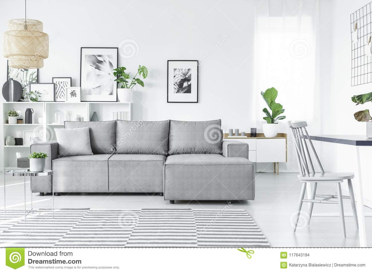 Skandinavisches Interior Scandinavian Living Room Stock Photo Image Of Decoration 117643194