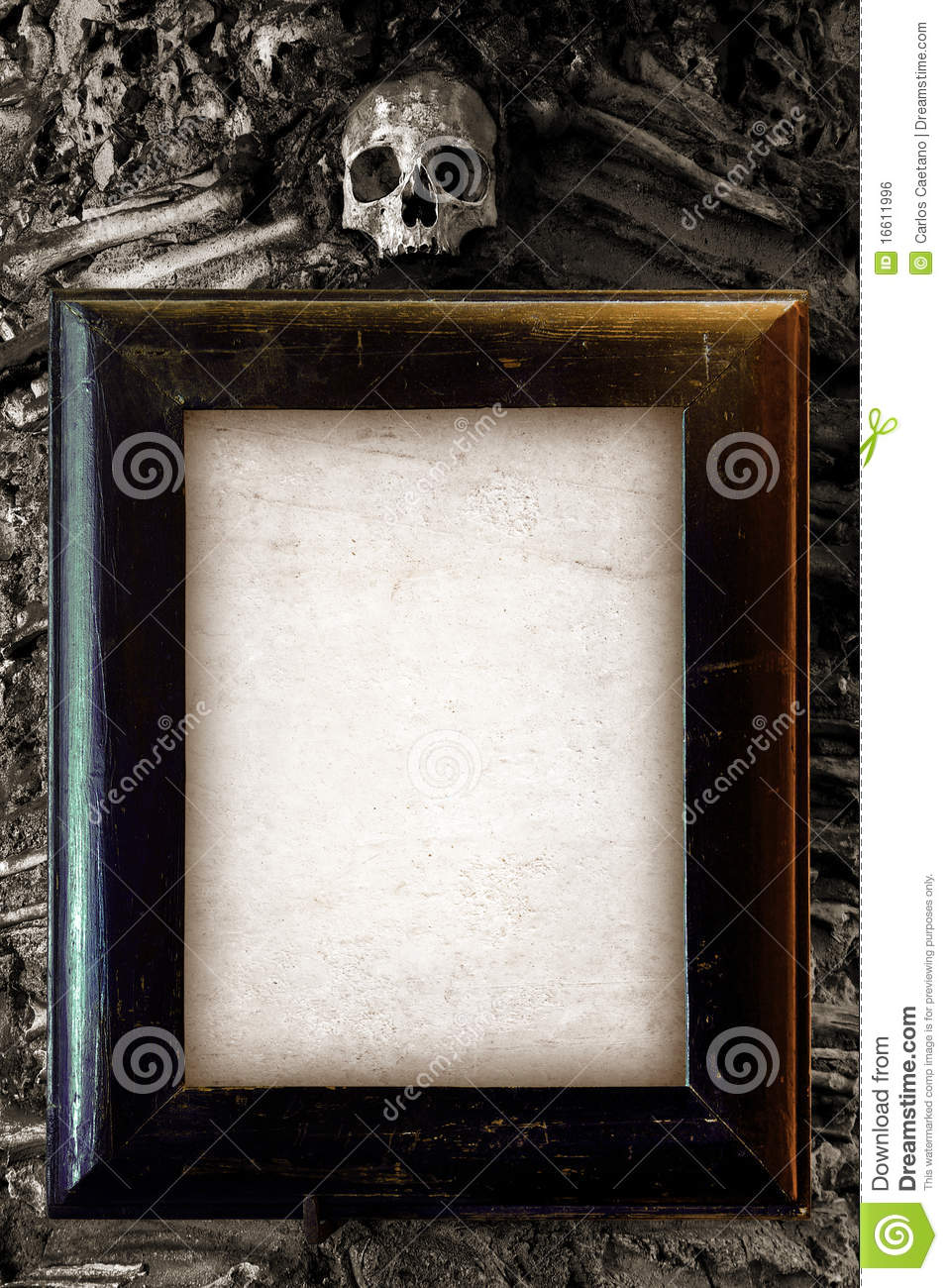 Memo Board Scary Frame Stock Photo. Image Of Evil, Creeps