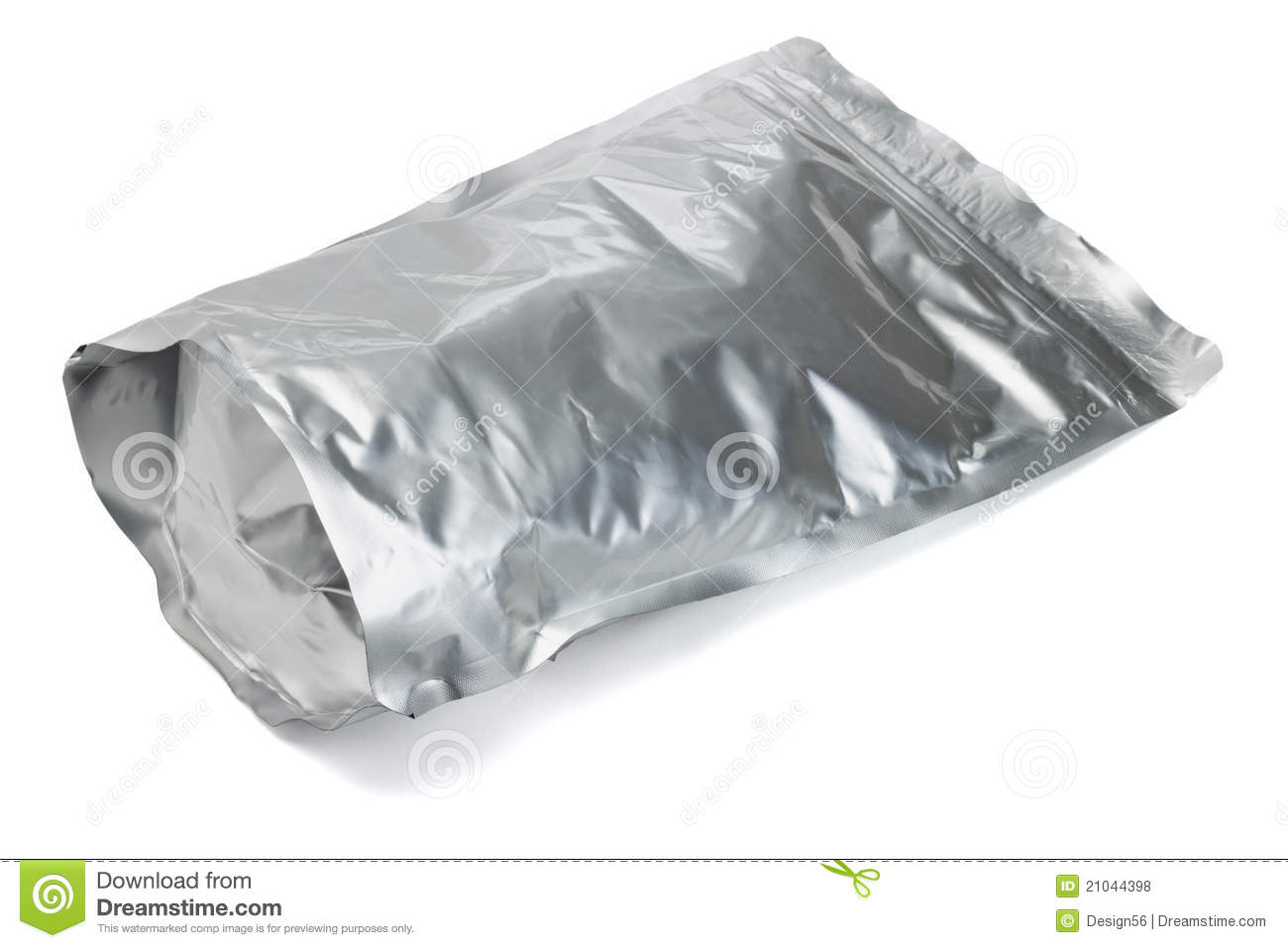 Clip Seal Bags Sealed Aluminum Foil Bag Royalty Free Stock Photos Image
