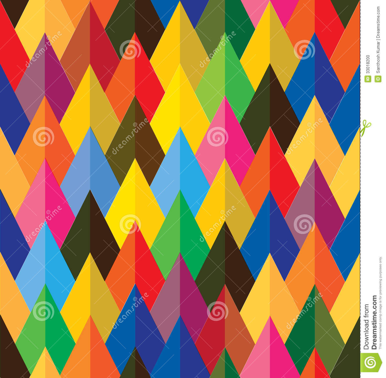 Wallpaper Illusion 3d Seamless Abstract Colorful Background Of Cones Or Stock