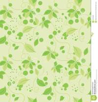 Seamless Abstract Green Leaves Pattern Stock Vector ...