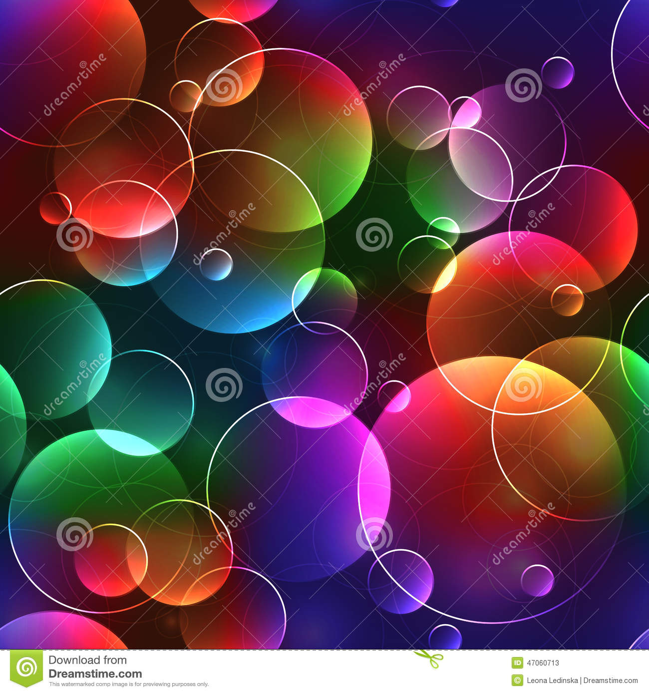 Bubble Wallpaper Hd Pink 3d Seamless Background With Bubbles In Bright Neon Colors