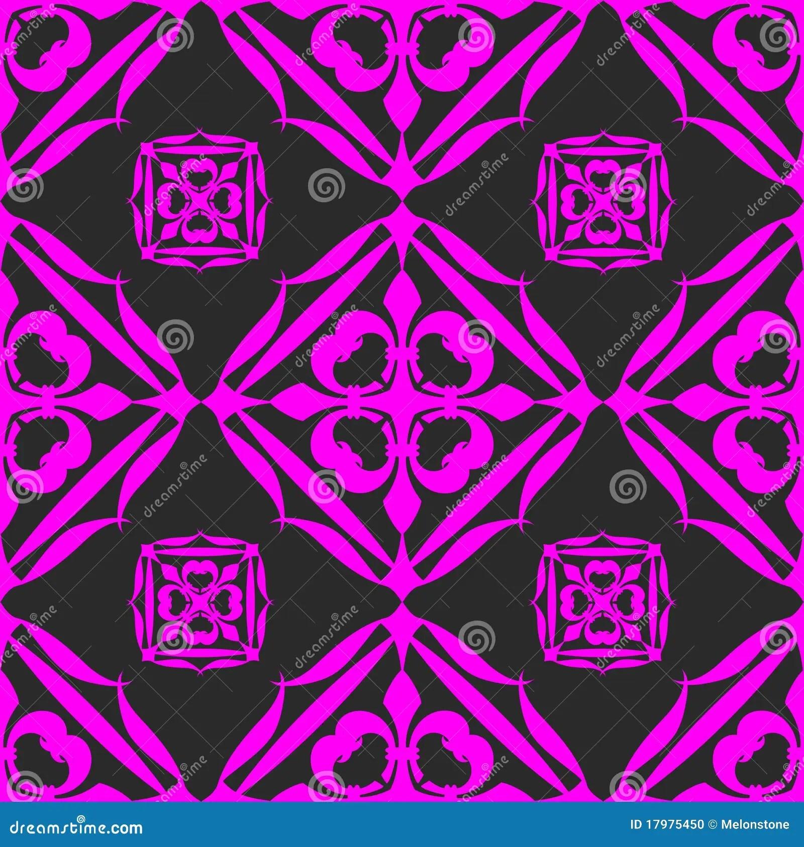 Pink Animal Print Wallpaper Seamless Black Pink Wallpaper Stock Photo Image 17975450