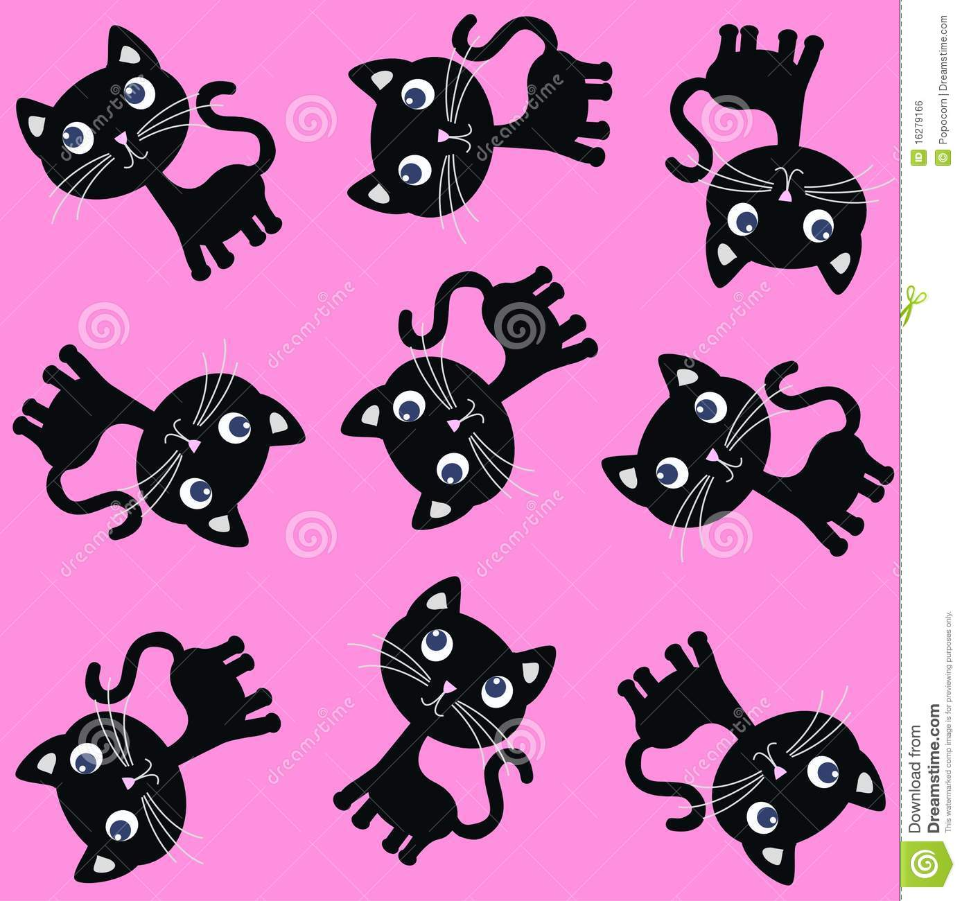 Cute Emoji Wallpapers For Girls Seamless Cat Pattern Royalty Free Stock Image Image