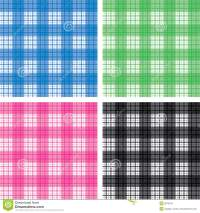 Seamless Checked Pattern Set Stock Photos - Image: 8379673