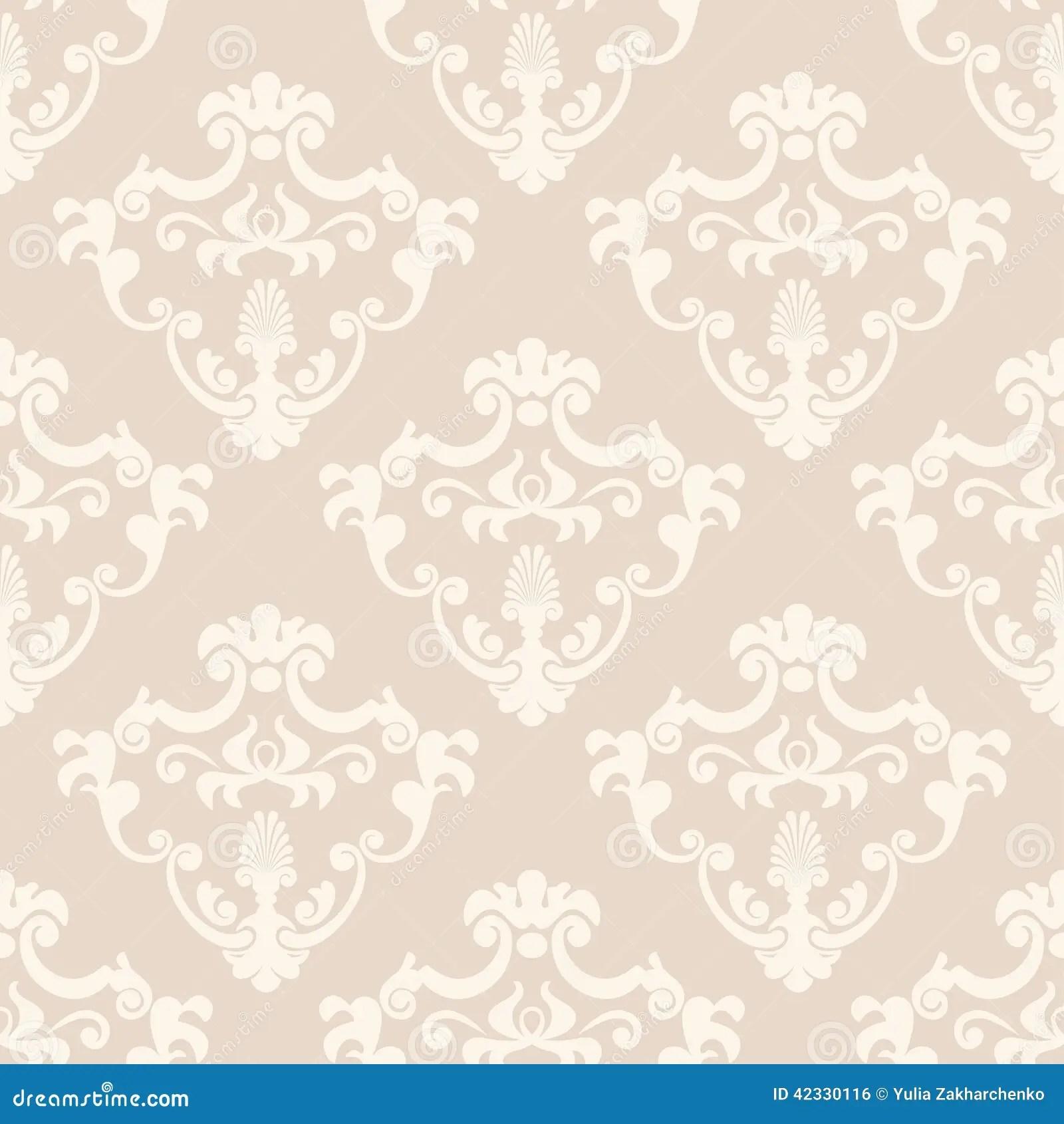 Purple And Black Wallpaper Designs Seamless Classic Design Vector Wallpaper Stock Vector