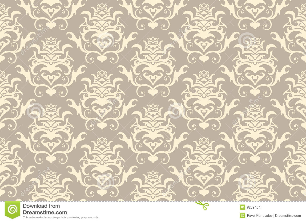 Arte Gotico Wallpaper Seamless Gothic Background Stock Vector Illustration Of