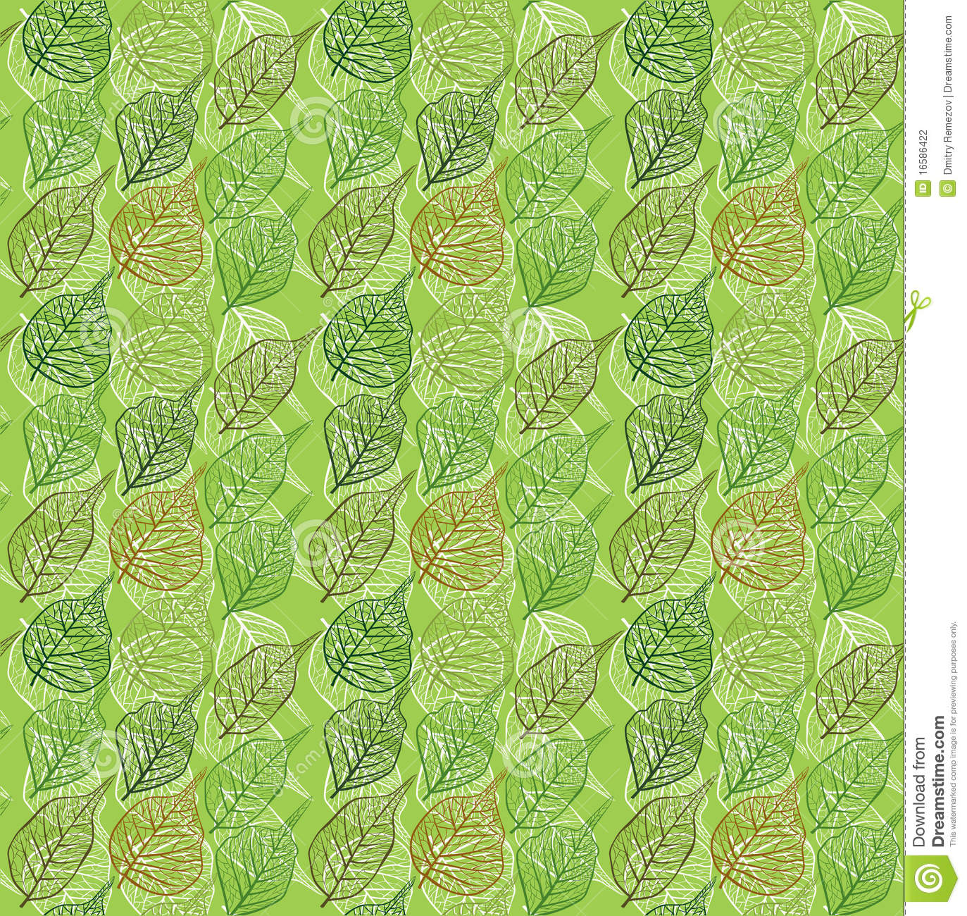 October Fall Wallpaper Seamless Leafy Background Stock Photography Image 16586422