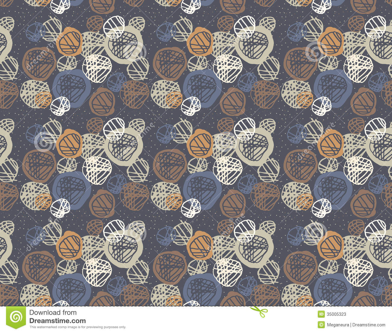 Wallpaper Doodle Cute Seamless Pattern Of Simple Geometry Retro Style