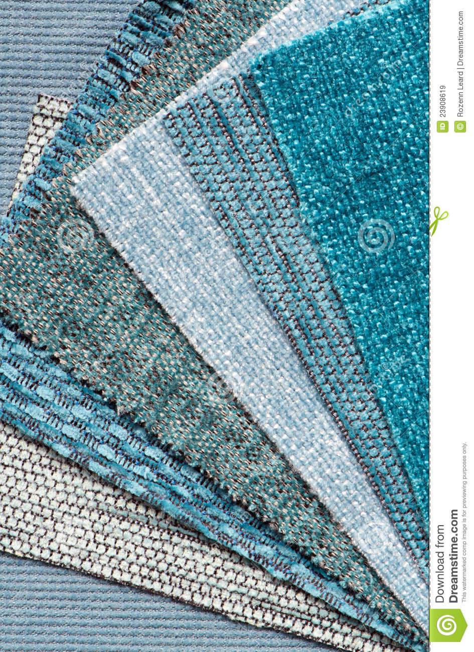 Sofa Fabric Samples Selecting Fabric Stock Image Image Of Textile Samples 23908619