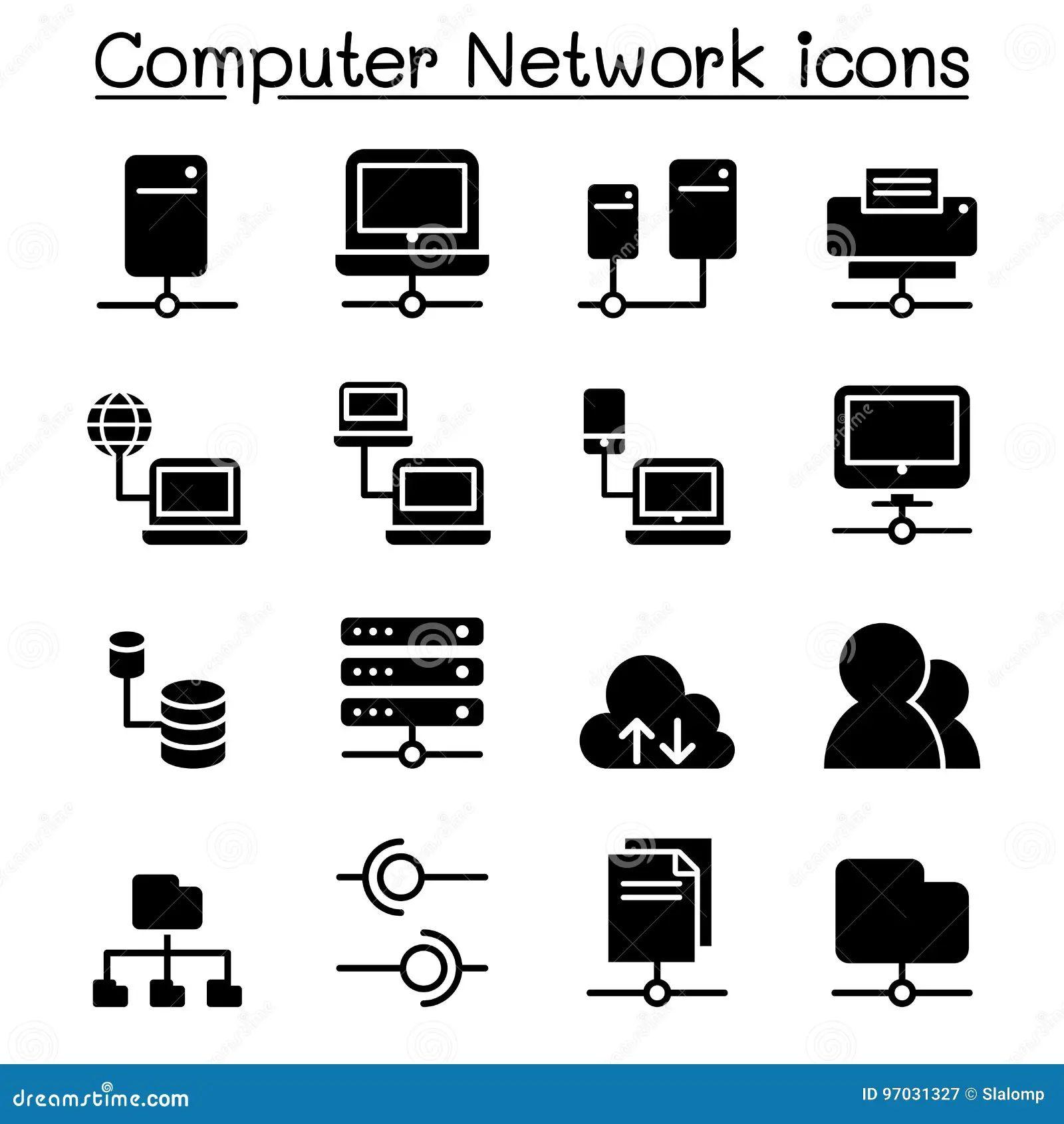 server diagram icons
