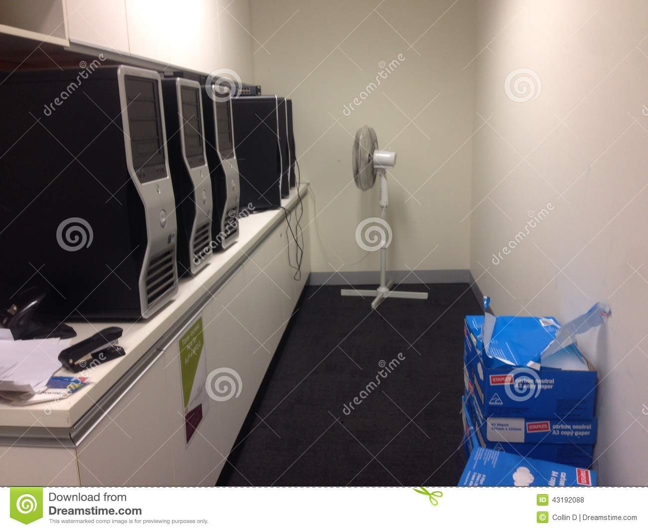 Bad Setup Server Poor Computer Setup Editorial Stock Photo Image Of