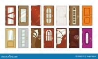 Types Doors & An Old Wooden Door At Deepgarh Punjab India.