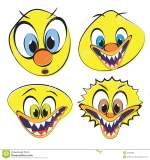 Funny Ugly Smiley Faces