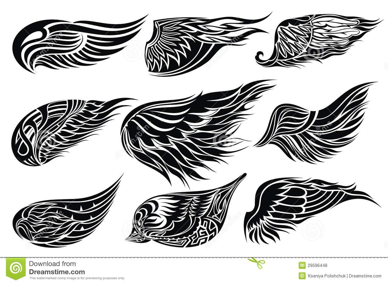 Wing tattoo design - Wings Tattoo Designs Wings Tattoo Design Royalty Free Stock Photos Download