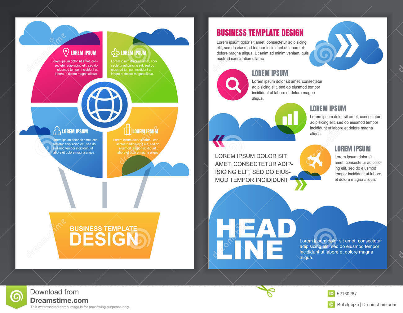 Poster design template free - Poster Design Free Template Free Poster Design Application Set Of Vector Design Template For Business