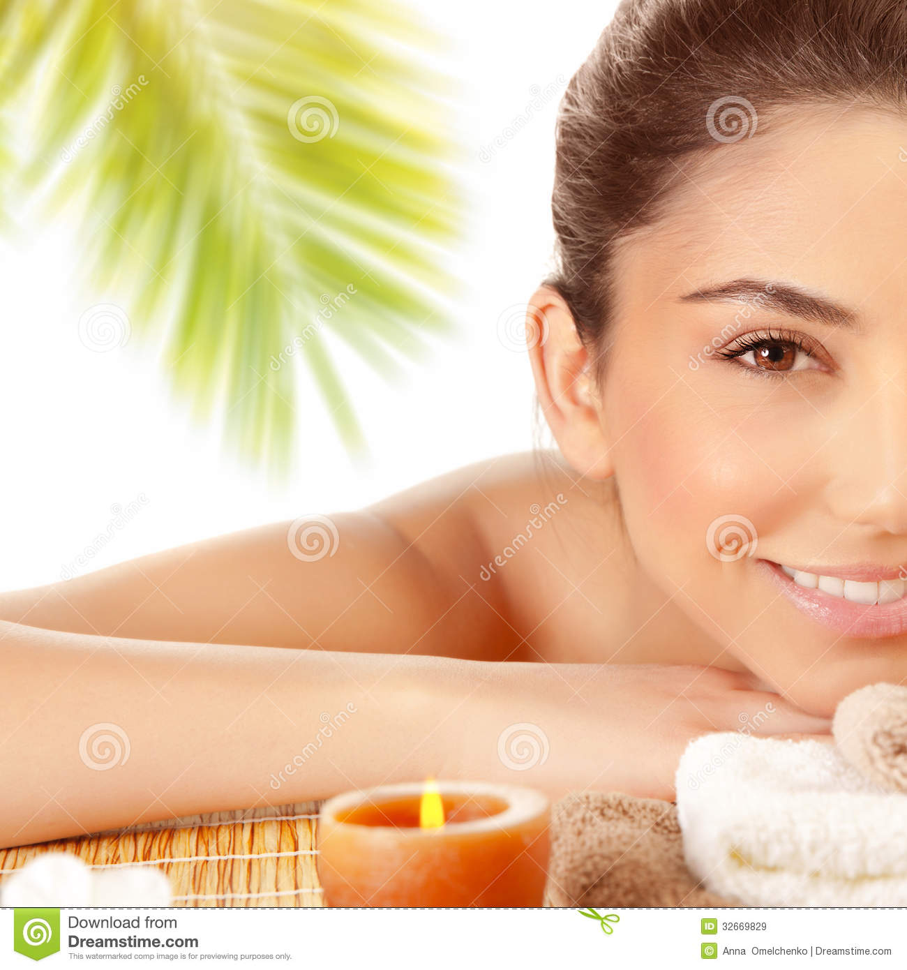 Salon Erotic Sexy Girl Enjoying Spa Royalty Free Stock Images Image