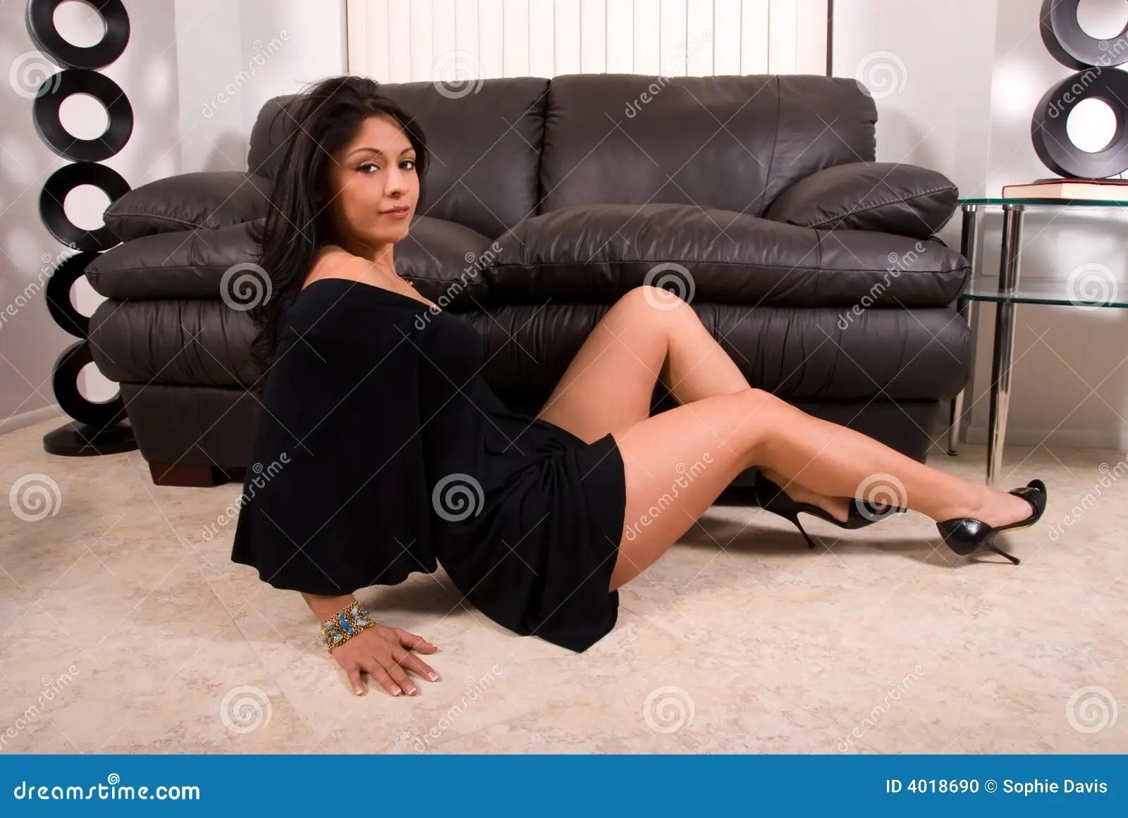 Latin Woman Stock Photo Image Of Girls Heels Female