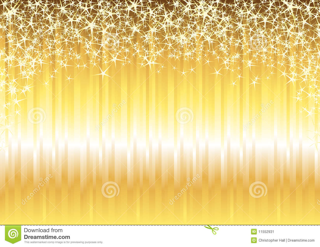Falling Gold Sparkles Wallpaper Shiny Gold Background Stock Image Image 11552931