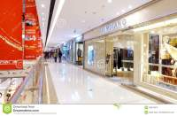 Shopping mall center editorial stock image. Image of front ...