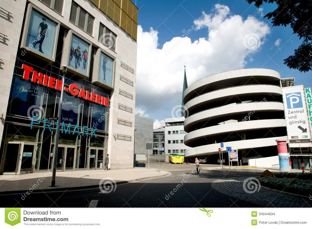 Dortmund Shopping Center Shopping Center In Dortmund Editorial Stock Image Image