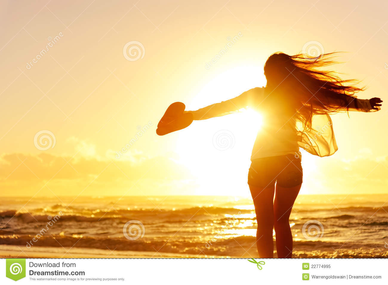 Imagenes Libres Y Gratis Silhouette Of A Woman Dancing By The Ocean Royalty Free