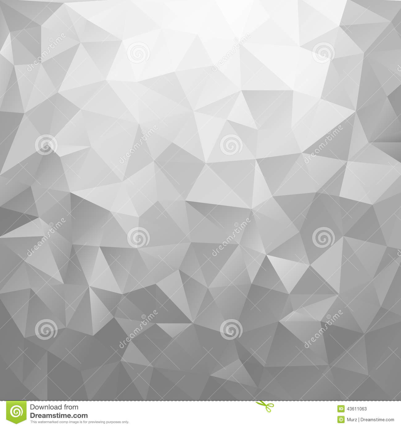 3d Silver Grey Wallpaper Silver Background Stock Vector Image 43611063
