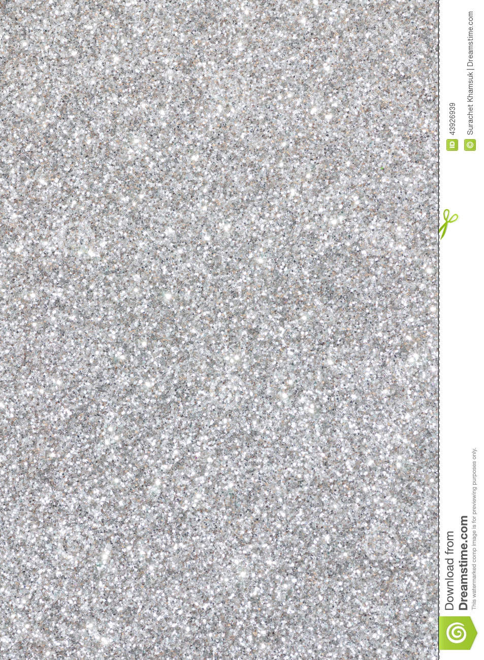Golden Wallpaper 3d Silver Glitter Texture Background Stock Photo Image