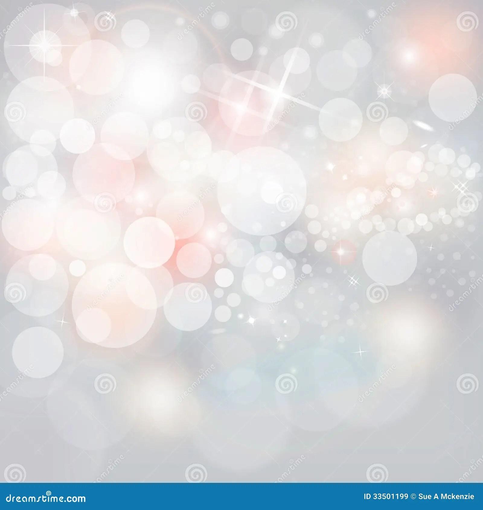 Purple Falling Circles Wallpaper Silver Lights Amp Stars On Neutral Grey Christmas Holiday