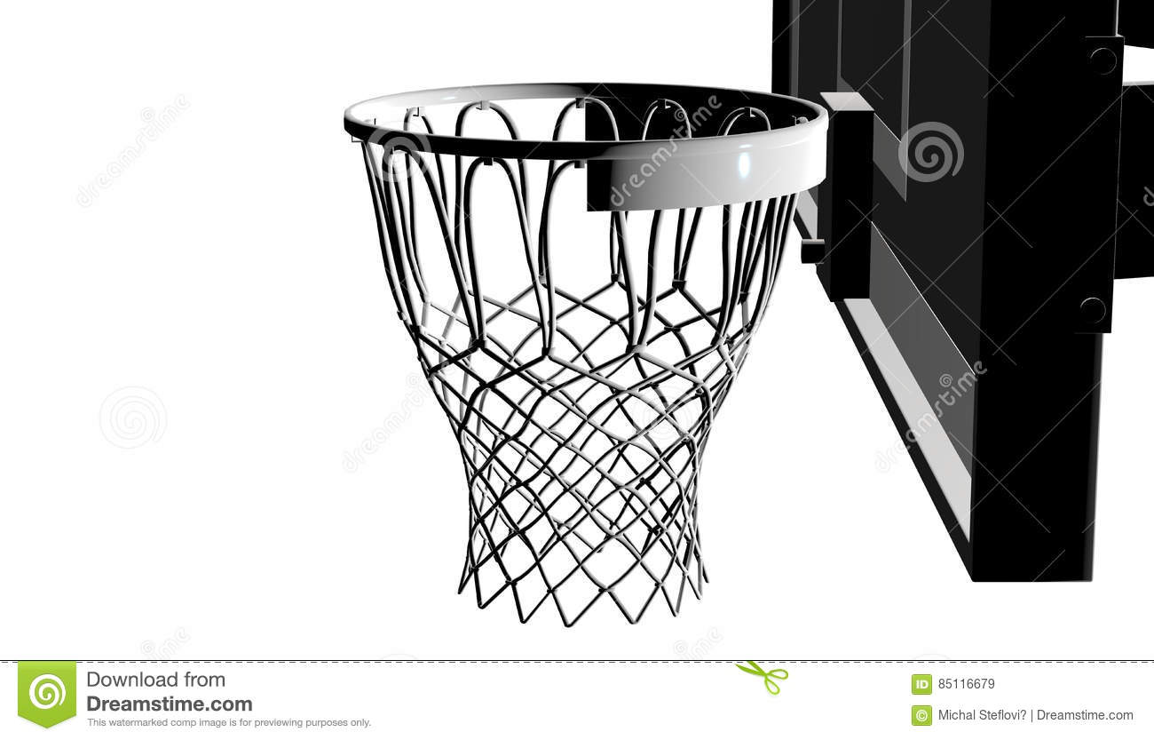 3d Net Silver Net Of A Basketball Hoop On Various Material And Background