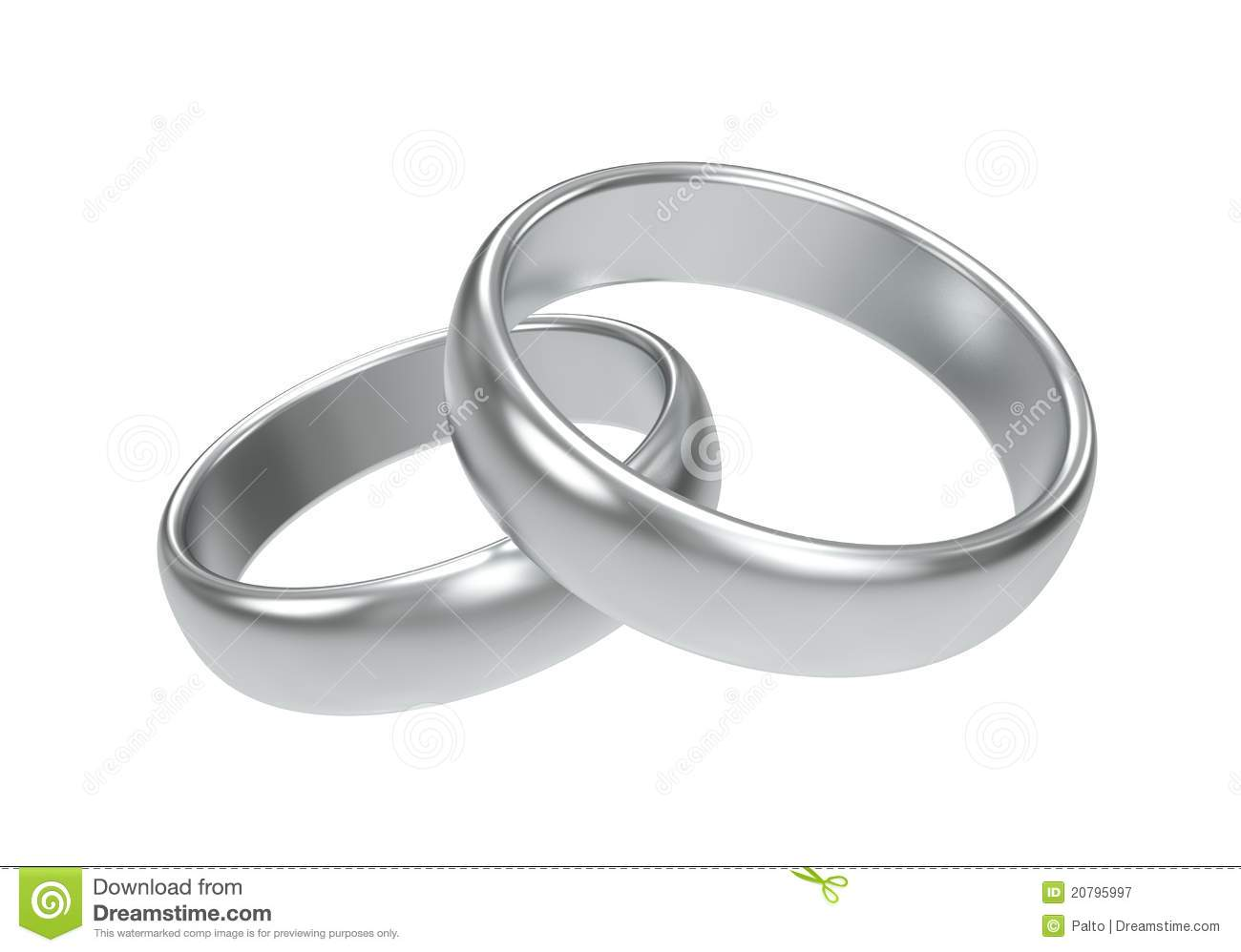 royalty free stock photography silver wedding rings image silver wedding rings Silver wedding rings