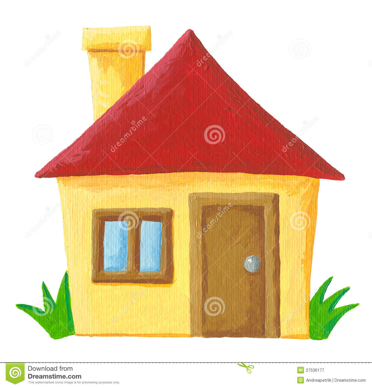 Simple House Image Simple House Stock Illustration Image Of Estate Front