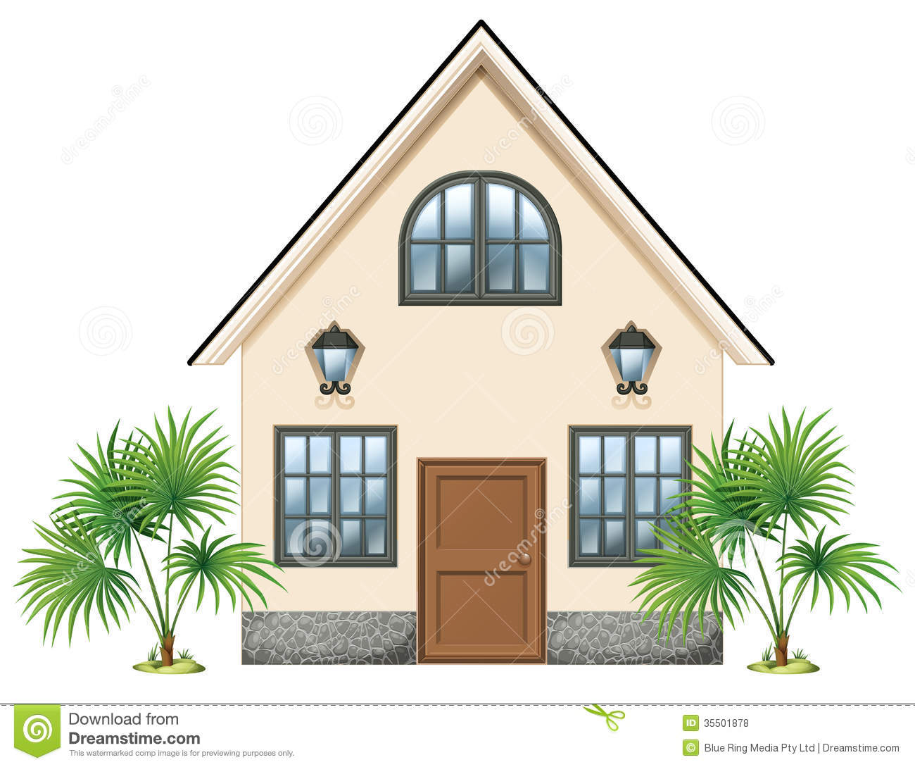 Simple House Images A Simple House Royalty Free Stock Photos Image 35501878