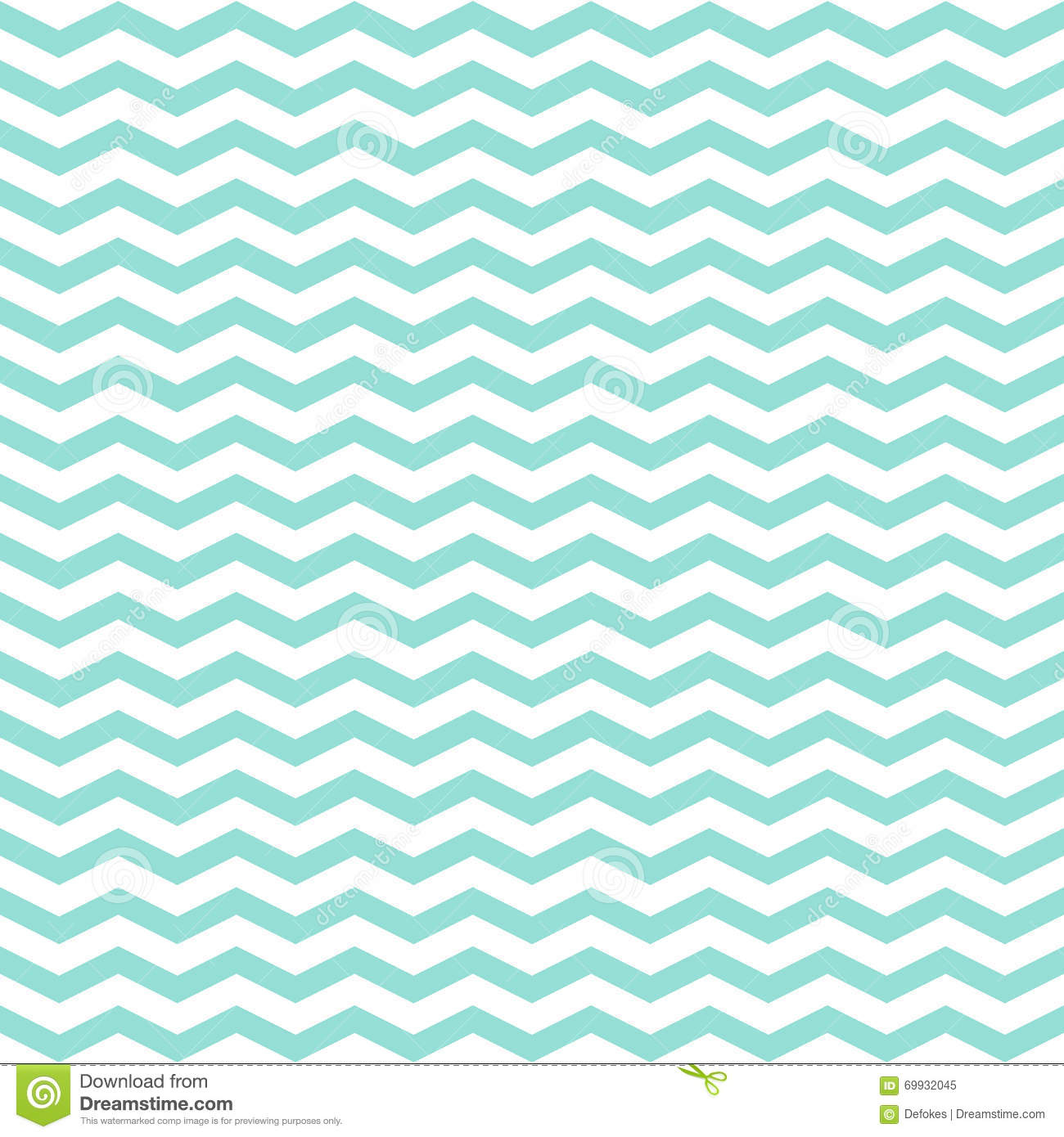 Cute Zig Zag Wallpapers Simple Modern Trendy Mint And White Zigzag Background