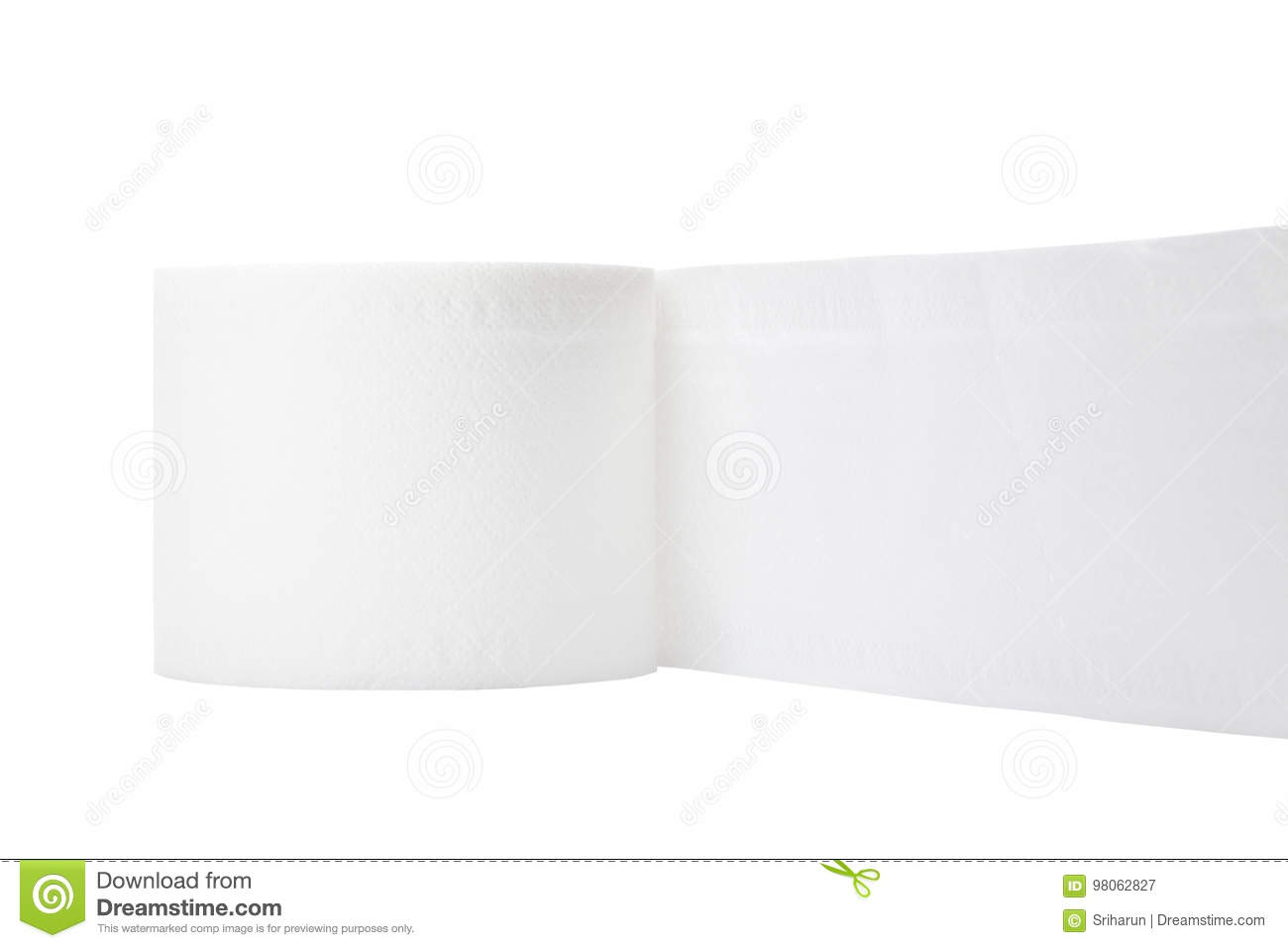 Rolled Single Mattress Single Rolled Toilet Paper Stock Image Image Of Sanitary 98062827